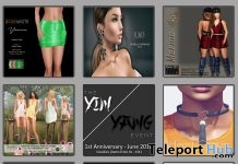 Several First Anniversary Gifts At The Yin Yang Event June 2018 by Various Designers - Teleport Hub - teleporthub.com