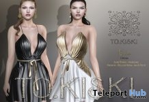New Release: Ella Dress by TO.KISKI @ Sense Event June 2018 - Teleport Hub - teleporthub.com
