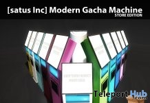 New Release: Modern Gacha Machine Store & Event Editions by [satus Inc] - Teleport Hub - teleporthub.com