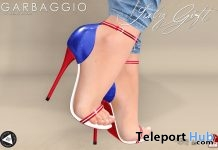Blaire Sandals July 2018 Group Gift by Garbaggio - Teleport Hub - teleporthub.com