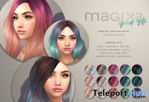 Color Melt Palette HUD July 2018 Group Gift by Magika - Teleport Hub - teleporthub.com