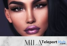 Lipsticks Pack For Catwa Head July 2018 Group Gift by MILA Poses - Teleport Hub - teleporthub.com