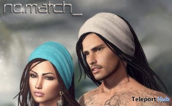 No Crunch Unisex Hair July 2018 Group Gift by No Match - Teleport Hub - teleporthub.com