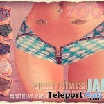 Jane Shorts Fatpack July 2018 Group Gift by zOOm - Teleport Hub - teleporthub.com