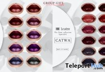Lesty No3 & Nani No1 Lipsticks Collection July 2018 Group Gift by Le gene - Teleport Hub - teleporthub.com