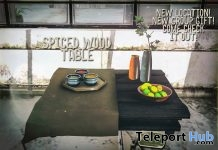 Spiced Wood Table July 2018 Group Gift by crate - Teleport Hub - teleporthub.com
