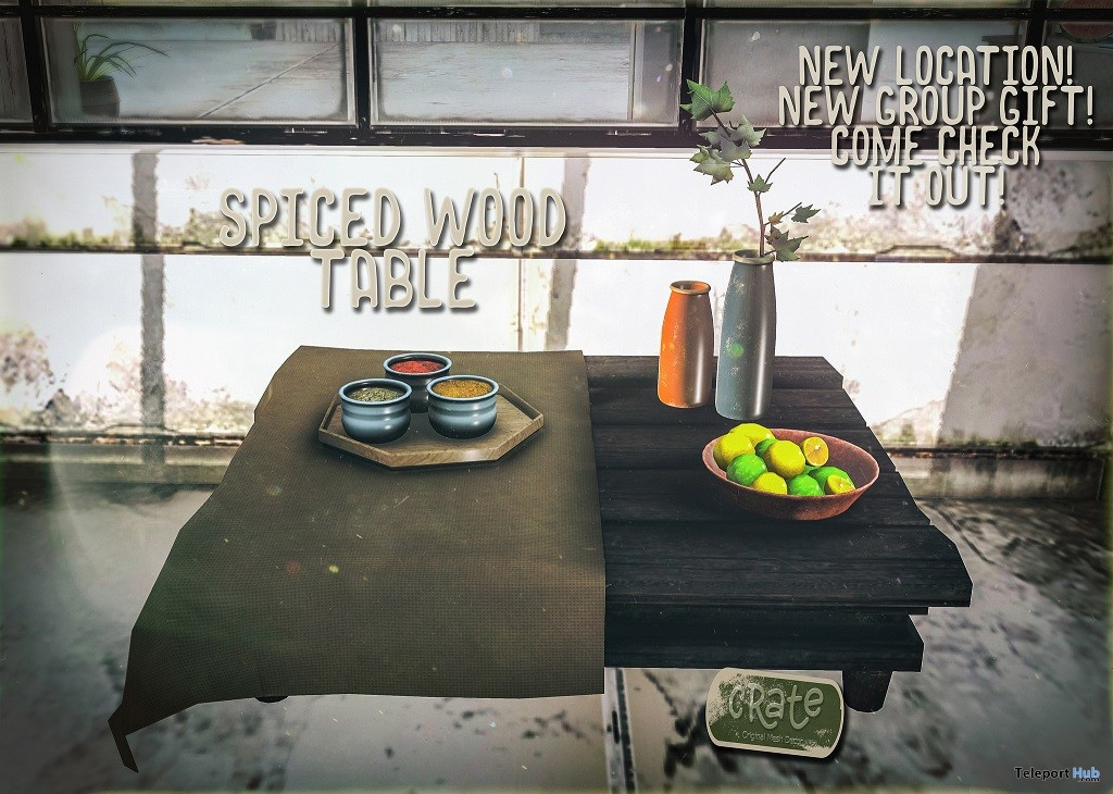 42593470724 bf462cdd6e k - Spiced Wooden Desk July 2018 Group Present by crate