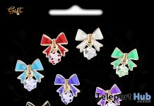 Bow Earrings July 2018 Group Gift by ERSCH - Teleport Hub - teleporthub.com