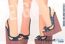 Freedom Wedges July 2018 Group Gift by REIGN - Teleport Hub - teleporthub.com