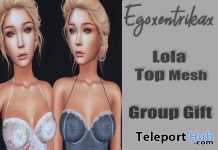 Lola Top July 2018 Group Gift by Egoxentrikax - Teleport Hub - teleporthub.com