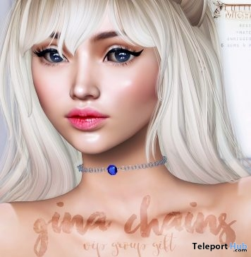 Gina Chains Fatpack July 2018 Group Gift by MICHAN - Teleport Hub - teleporthub.com
