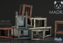 Stool Collection July 2018 Subscriber Gift by MADRAS - Teleport Hub - teleporthub.com