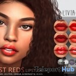 Just Red Lipstick Applier Pack July 2018 Group Gift by LIVIA - Teleport Hub - teleporthub.com