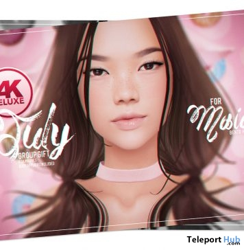 Kimi Skin Applier Fatpack For Akeruka Maia Bento Head July 2018 Group Gift by PUMEC - Teleport Hub - teleporthub.com