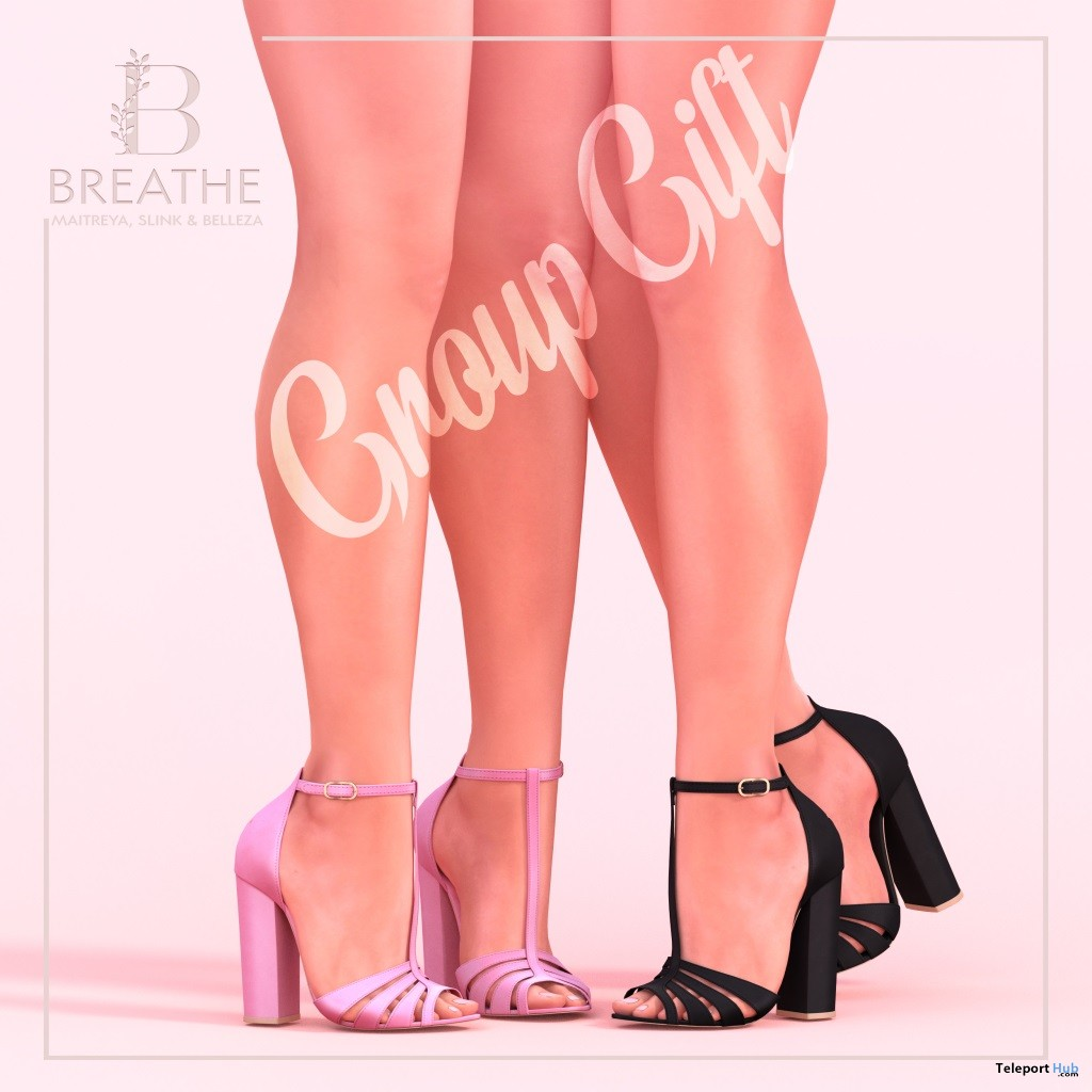 Choko Heels Fatpack July 2018 Group Gift by BREATHE - Teleport Hub - teleporthub.com