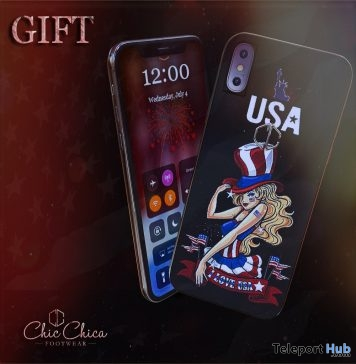 MyPhone 4th of July 2018 Gift by Chic Chica - Teleport Hub - teleporthub.com