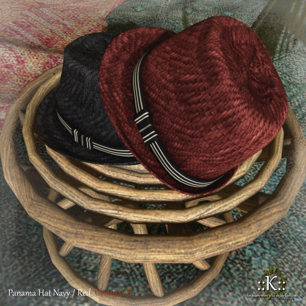 59975319d34 Panama Hat July 2018 Group Gift by K