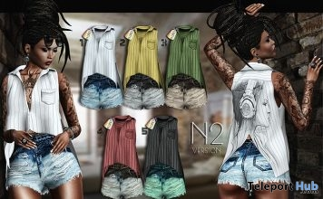 Kora Outfit N2 Fatpack 1L Promo Gift by N-UNO - Teleport Hub - teleporthub.com