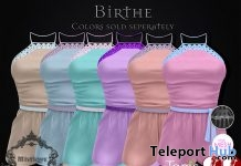 Birthe Dress 50% Off Promo by Mistique - Teleport Hub - teleporthub.com