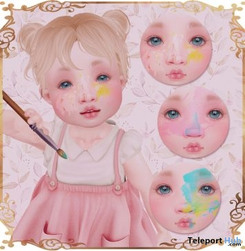 Paint Mess Face Omega Applier 1L Promo Gift by LeMomo - Teleport Hub - teleporthub.com