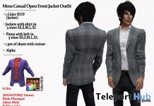 Mens Casual Open Front Jacket Outfit July 2018 Group Gift by AmAzIng CrEaTiOnS - Teleport Hub - teleporthub.com