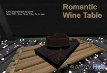 Romantic Wine Table July 2018 Group Gift by Third Moon Creations - Teleport Hub - teleporthub.com