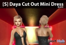 New Release: [S] Daya Cut Out Mini Dress by [satus Inc] - Teleport Hub - teleporthub.com