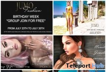 Several Limited Time Birthday Group Gifts by JUMO - Teleport Hub - teleporthub.com