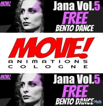 Jana 62 Bento Dance Gift by MOVE! Animations Cologne - Teleport Hub - teleporthub.com