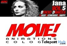 New Release: Jana Vol 5 Bento Dance Pack by MOVE! Animations Cologne - Teleport Hub - teleporthub.com