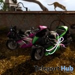 New Release: Firefly & Firefly Neon Mini Bike by [sau] motors @ Man Cave Event July 2018 - Teleport Hub - teleporthub.com