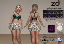 Yetsy Top & Skirt July 2018 Group Gift by Zhora Design - Teleport Hub - teleporthub.com