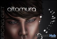 Tommy Piercing August 2018 Group Gift by Altamura - Teleport Hub - teleporthub.com