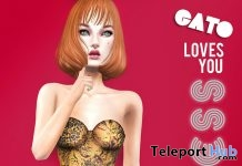 Leo Dress August 2018 Subscriber Gift by GATO - Teleport Hub - teleporthub.com