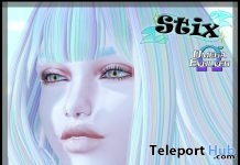 Ziva Stardust Skin With Omega Appliers August 2018 Group Gift by Stix - Teleport Hub - teleporthub.com