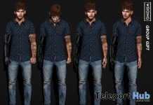 Four Single Male Poses Pack August 2018 Group Gift by WRONG - Teleport Hub - teleporthub.com