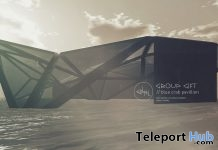 Blue Crab Pavilion August 2018 Subscriber Gift by cinphul - Teleport Hub - teleporthub.com