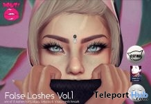 False Lashes Vol 1 August 2018 Group Gift by POUT! - Teleport Hub - teleporthub.com