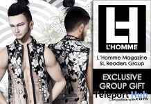 Statement Vest L'HOMME Magazine August 2018 Group Gift by Bakaboo - Teleport Hub - teleporthub.com