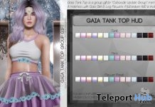 Gaia Tank Top Fatpack August 2018 Group Gift by Caboodle - Teleport Hub - teleporthub.com