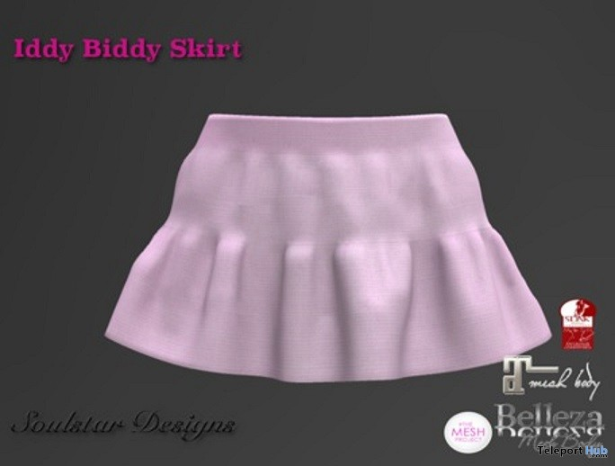 Iddy Biddy Pink Skirt 1L Promo Gift by Soulstar Designs - Teleport Hub - teleporthub.com