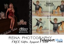 Female & Kid Pose Pack SF0012 & SK0010 August 2018 Gifts by Reina Photography - Teleport Hub - teleporthub.com