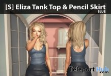 New Release: [S] Eliza Tank Top & Pencil Skirt by [satus Inc] - Teleport Hub - teleporthub.com