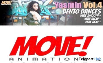 New Release: Yasmin Vol 4 Bento Dance Pack by MOVE! Animations Cologne - Teleport Hub - teleporthub.com