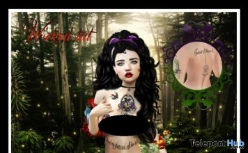 Wicked Tattoo Once Upon A Time Dance Exclusive Gift by Star Sugar - Teleport Hub - teleporthub.com