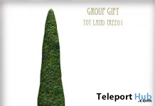 Toy Land Tree August 2018 Group Gift by D-LAB - Teleport Hub - teleporthub.com