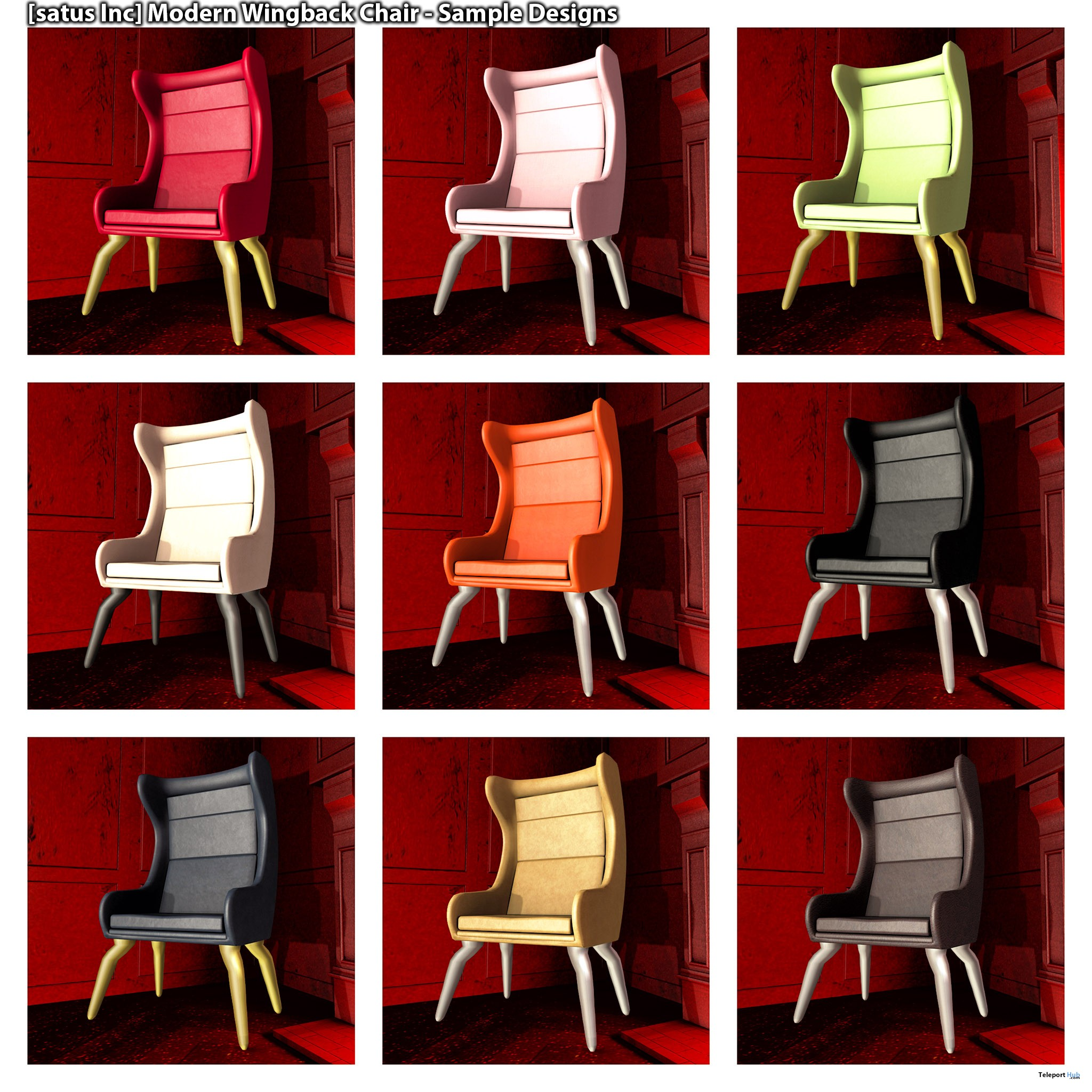 New Release: Modern Wingback Chair [Adult] & [PG] by [satus Inc] - Teleport Hub - teleporthub.com