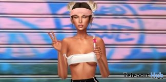 New Rules Bento Pose September 2018 Group Gift by LUNE - Teleport Hub - teleporthub.com