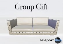 Astra Couch White PG September 2018 Group Gift by PiCaZZo - Teleport Hub - teleporthub.com