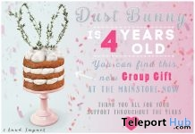Rabbit Ear Sponge Cake September 2018 Group Gift by Dust Bunny - Teleport Hub - teleporthub.com